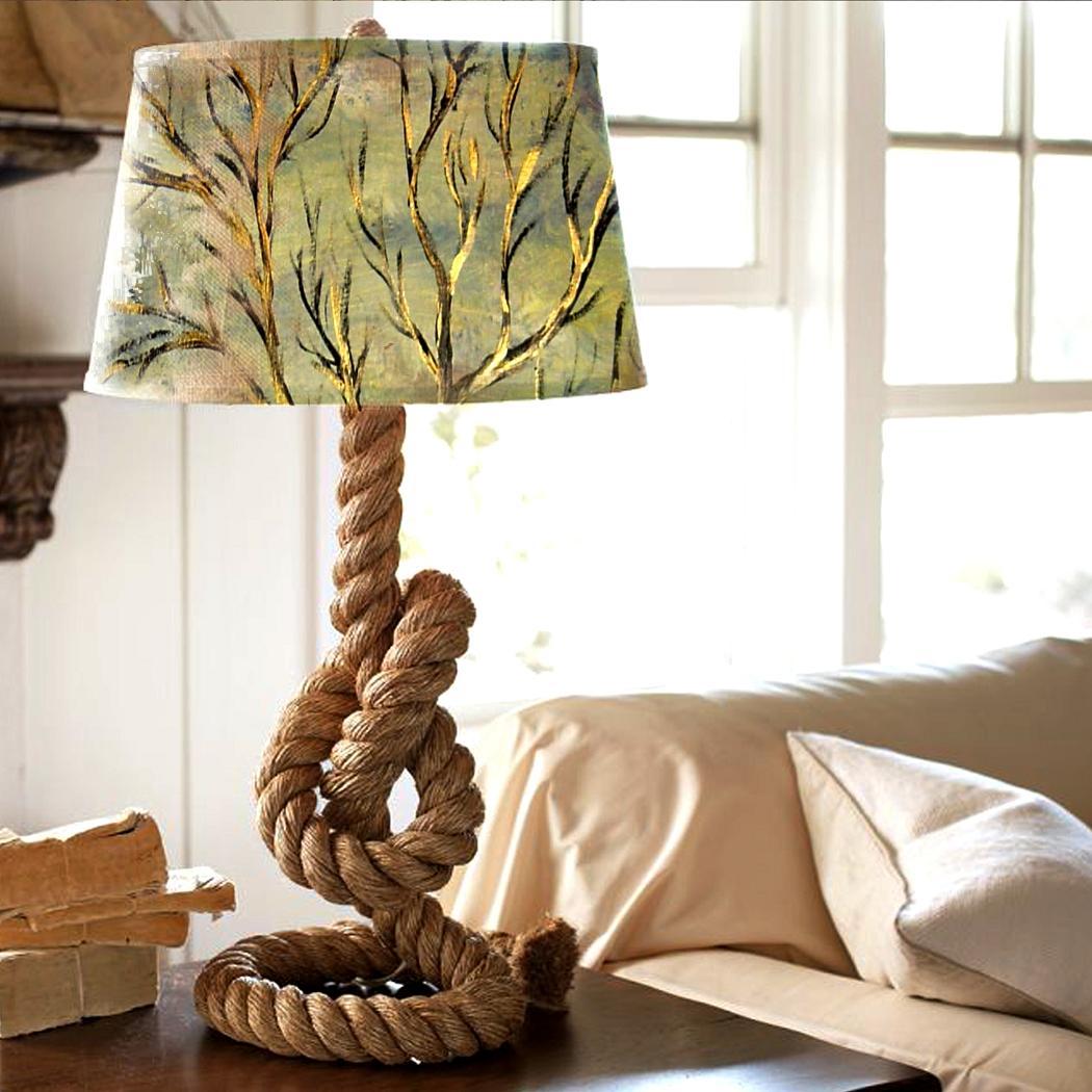 Лампа морской стиль своими руками